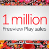 Freeview Play sales top 1m
