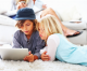 Survey: 60% of kids multi-task while watching TV