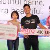 Astro kicks off 4K broadcasts