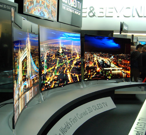 lg launches curved oled tvs in us. Black Bedroom Furniture Sets. Home Design Ideas