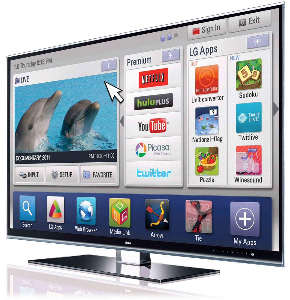 Lg Investigates Its Spying Smart Tv