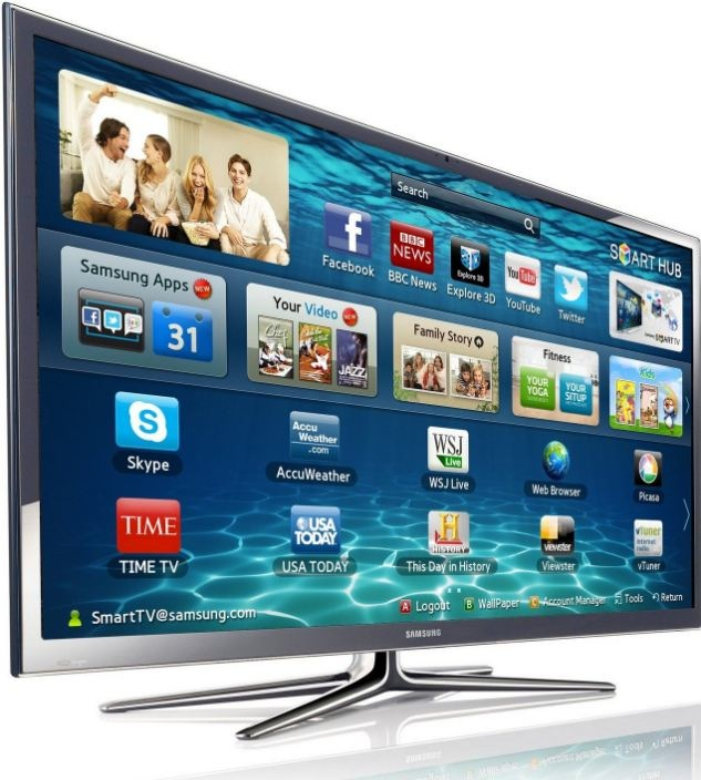 33 of uk homes own smart tvs. Black Bedroom Furniture Sets. Home Design Ideas