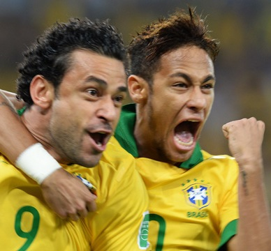 Scolari and Neymar reflect on Brazil's Confederations Cup victory - video